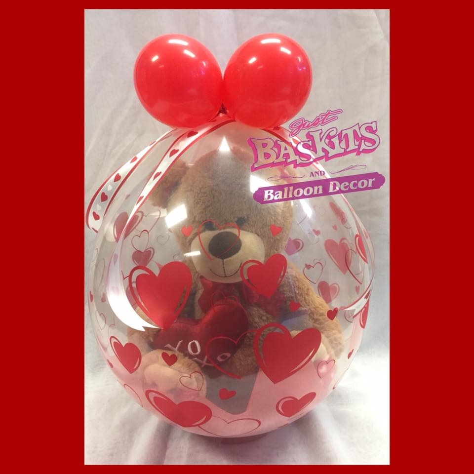 Love you beary much stuffed balloon lybm