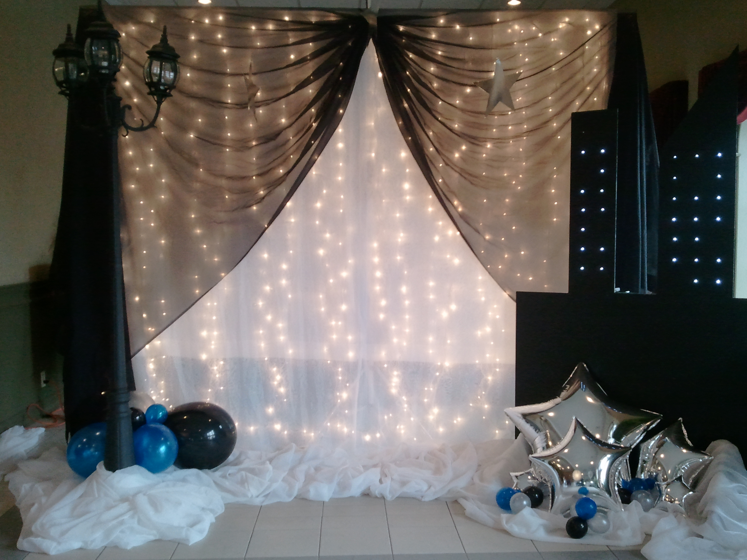 Balloon decor for Back ground decoration